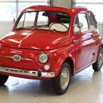 The original Fiat 500. No, it doesn&#039;t do wheelies if you put a penny on the bumper.