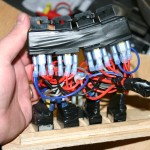 7.	The relay pack is wired and connected and ready for operation. Writing down a diagram of the location for each relay will really help in diagnosing problems such as if a relay burns out.