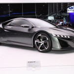 This is what sex on wheels looks like. The Acura NSX concept is very close to what the actual production car will be. The original was a showstopper, this one will be no different. Did I mention it's a hybrid?