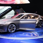 The Hyundai concept thing. I don't remember the name, but it has suicide rear doors and really weird lines. Do you like it?