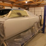 Clayton, RDR's body tech, spent 6 months sanding, sanding and more sanding to get the body in glass-smooth condition.