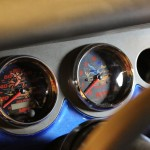 The gauges of the roadrunner are so cool, yet they don't get noticed. Subtlety was the idea.