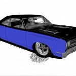 Rick Wilson did an amazing job creating the rendering for the Roadrunner. While there were some running changes during the build, the rendering hit the mark.