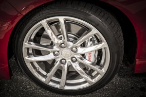 The factory Brembo front brakes are great. There should be an option for the rears as well.